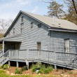 Grey Siding House with Wheelchair Ramp — Stock Photo