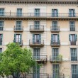 Old Apartment Building in Barcelona — Stock Photo
