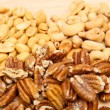 Stock Photo: Peanuts Cashews and Pecans