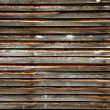 Old Weathered Timber Wall — Stock Photo