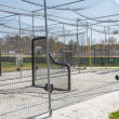 Batting Cages in Park — Stock Photo
