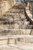 Curving Stone Steps — Stock Photo