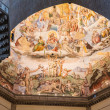 Painted Domed Ceiling in Chapel at Florence — Stock Photo #34841205