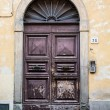 Old Ornate Door at 76 — Stock Photo