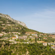 Homes on French Hillside — Stock Photo