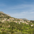 Homes and Condos on French Hillside — Stock Photo