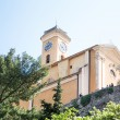 Stock Photo: Clock Tower on Hilltop in Eze