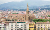 Church with Bell Tower in Florence — Stock Photo