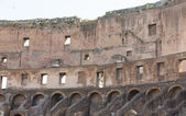 Walls on Interior of Roman Coliseum — Stock Photo
