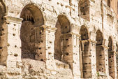 Arches on Coliseum Wall — Stock Photo
