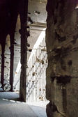 Pillars Under Coliseum — Stock Photo