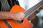 Strumming — Stock Photo