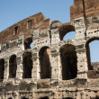 Pitted Exterior of Ancient Coliseum — Stock Photo #37845015