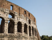 Outer Wall of Coliseum — Stock Photo