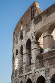Curved Exterior of Coliseum — Stock Photo