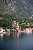Old Domed Building on Kotor Bay — Stock Photo
