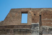 Window in Wall of Roman Coliseum — Stock Photo