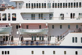 White Lifeboats on Cruise Ship — Stock fotografie