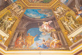 Painting on Domed Ceiling in Vatican — Stock Photo