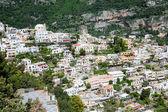 Colorful Homes on the Amalfi Coast — Stock Photo