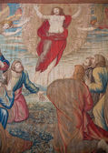 Tapestry of Resurrection in Vatican — Stock Photo