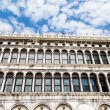 Windows of Doges Palace Under Nice Sky — Stock Photo