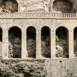 Stock Photo: Arches in Pompeii Wall
