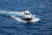 Pilot Boat in Messina Straight — Stock Photo