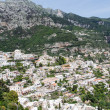 City of Positano from Above — Stock Photo