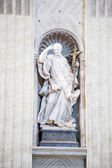 Statue of Saint Vincent in Vatican — Stock Photo