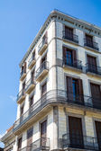 Wrought Iron around Balconies of Old Barcelona Hotel — 图库照片