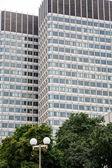 Twin Office Towers in Boston — Stock fotografie