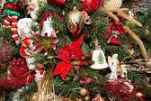 Bells on Christmas Tree — Stock Photo