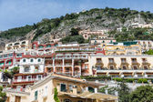 Balconies in Positano Resorts — Stock Photo