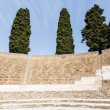 Rows of Seats in Pompeii Theater — Stock Photo #42321651
