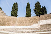 Rows of Seats in Pompeii Theater — Stock Photo