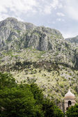 Rocky Peaks Over Kotor Montenegro — Stock Photo