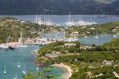 Yacht Basin in Antiqua — Stock Photo