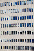 White Stone Office Tower with Many Windows — Stock Photo