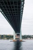 Verazzano Bridge From Below — Stock Photo