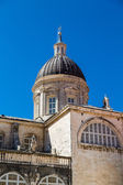 Ancient Dome Under Dubrovnik Sky — Foto Stock