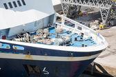 绳索和船船头缆线 — 图库照片