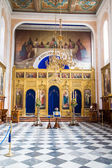 Open Interior of Old Dubrovnik Church — Stock Photo