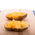 Half Baked Cheesy Potatoes — Stock Photo #44868141
