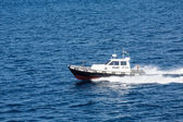 Fast Italian Pilot Boat — Stock Photo