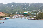 Industrial Port in St Thomas — Stock Photo