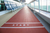 Start Line on Ships Deck — Stock Photo