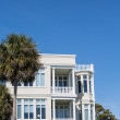 Nice Stucco Beach Home — Stock Photo