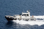 Italian Pilot Boat — Stock Photo