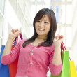 Asian shopper - Stock Photo
